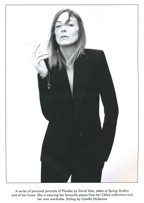 PhoebePhilo Photo: David Sims The Gentlewoman issue 1