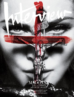 Interview May 2010. Cover: Madonna Photo:Mert Alas & Marcus Piggott. Styling:Ludivine Poiblanc