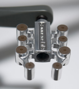 The Raw Canondale - pedal detail