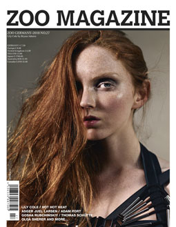 Zoo summer 2010. Lily Cole. Photo: Bryan Adams