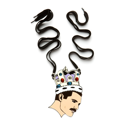Yazbukey - Freddie Mercury necklace