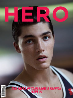Hero Issue 3 cover. Photo: Doug Inglish Styling: Andrew Davis