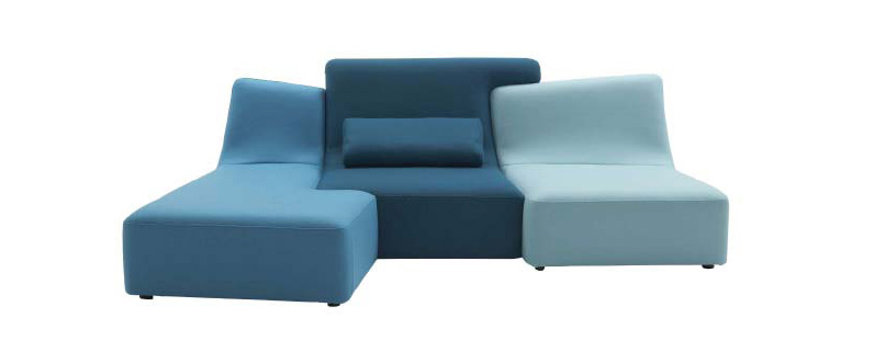 Phillippe Nigro - Confluences seating system for Ligne Roset