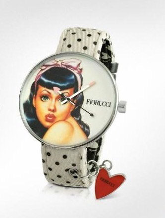 Fiorucci pin-up watch by Zeon