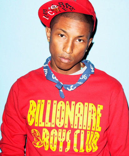 Rollacoaster issue 1 - Pharrell Williams Photo: Kenneth Cappello