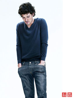 Orlando Bloom in Uniqlo's AW10 campaign