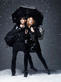Burberry - Winter Storms campaign. Photo: Jacob Sutton