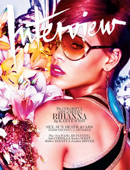 Interview December/January 2011. Rihanna. Photo: Mikael Jansson Styling: Ludivine Poiblanc
