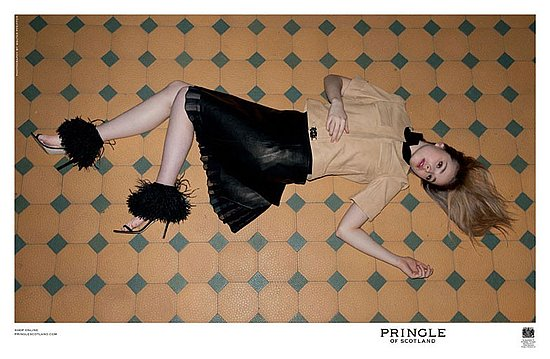 Pringle of Scotland SS 11 campaign. Photo: Walter Pfeiffer