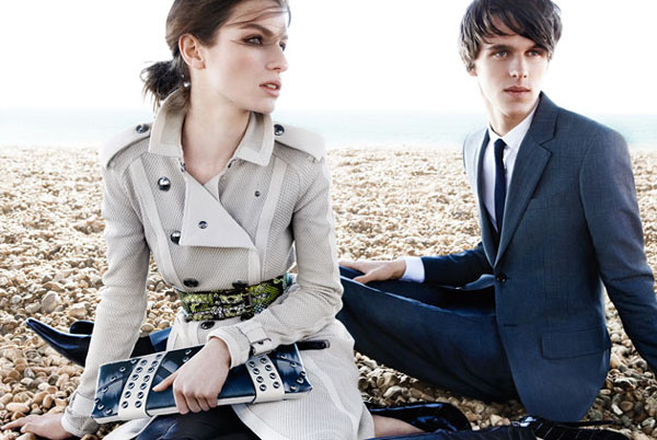 Burberry SS11 campaign. Photo: Mario Testino