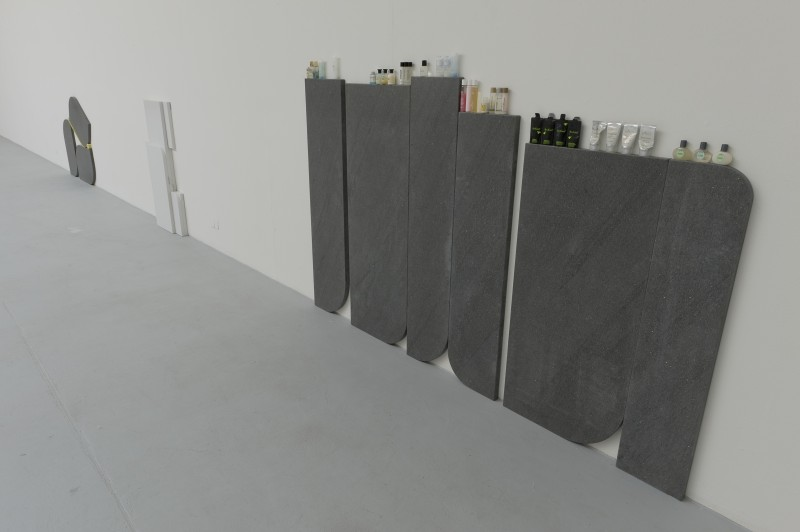 Gabriel Kuri 'Complimentary Cornice and Intervals' 2010, courtesy the artist and Kurimanzutto, Mexico City.