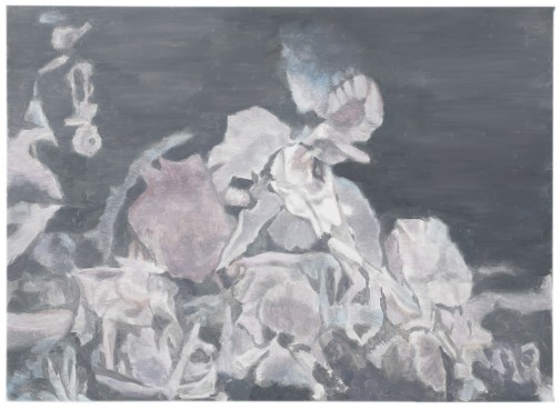 Luc Tuymans 'Singing Flowers' 2008. Oil on canvas, Courtesy of the artist and David Zwirner, New York.