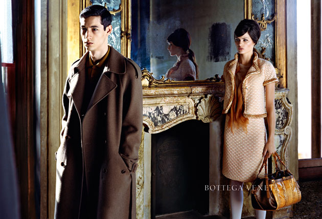 Bottega Veneta AW11 Campaign.  Photo: Robert Polidori