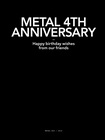 METAL - Issue 20 4th Birthday Collectible